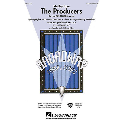 Hal Leonard The Producers (Medley) Combo Parts Arranged by Mac Huff