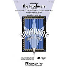 Hal Leonard The Producers (Medley) (SATB) SATB arranged by Mac Huff
