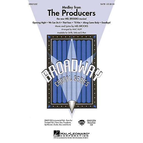Hal Leonard The Producers (Medley) (SATB) SATB arranged by Mac Huff