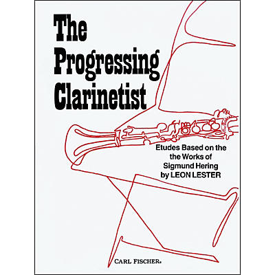 Carl Fischer The Progressing Clarinetist