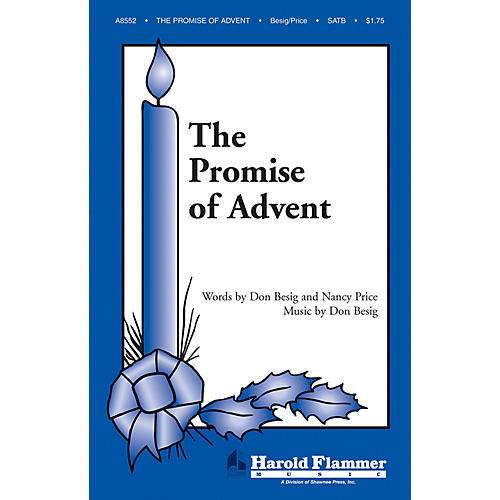 Shawnee Press The Promise of Advent SATB composed by Nancy Price