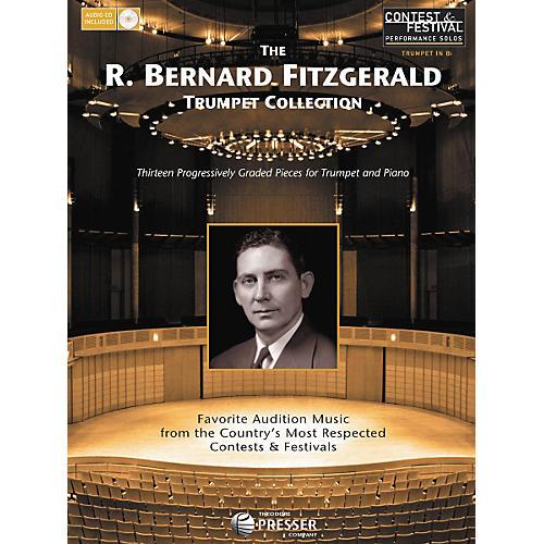 Carl Fischer The R. Bernard Fitzgerald Trumpet Collection Book/CD