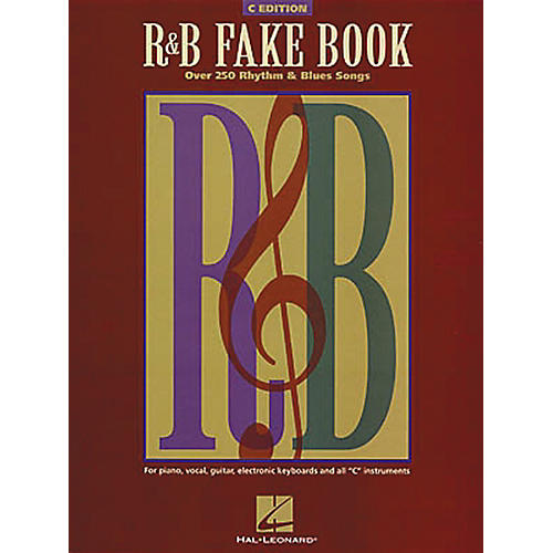 Hal Leonard The R&B Fake Book - C Edition