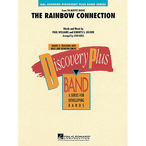 Hal Leonard The Rainbow Connection - Discovery Plus Concert Band Series Level 2 arranged by John Moss