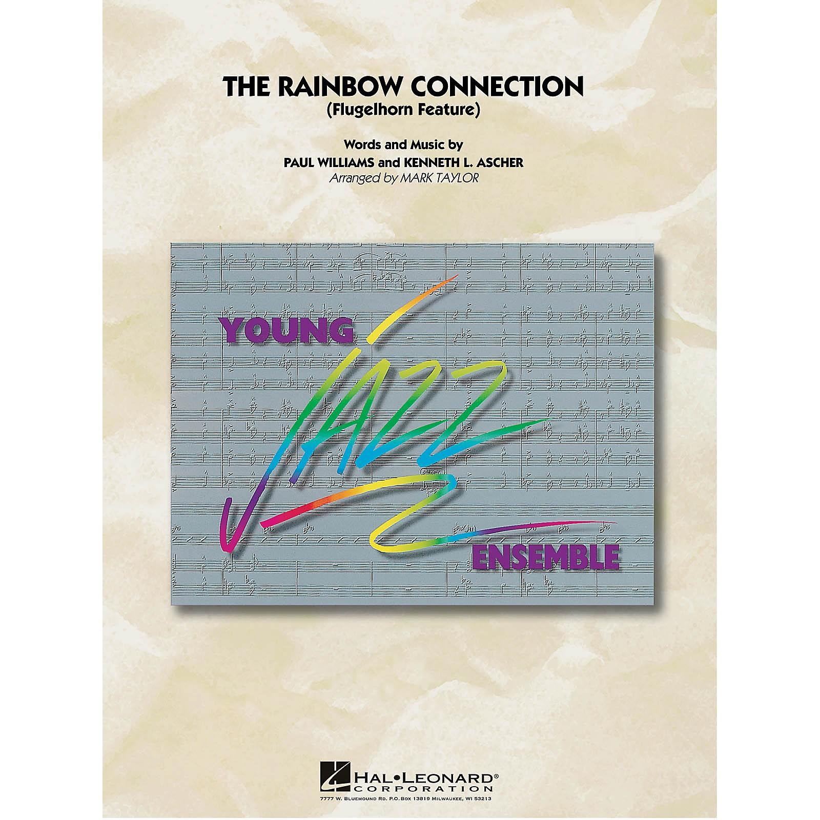 Hal Leonard The Rainbow Connection (Flugelhorn Solo with Jazz Ensemble) Jazz Band Level 3 Arranged by Mark Taylor