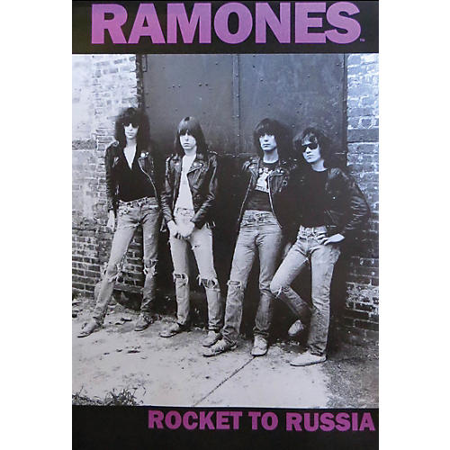 Hal Leonard The Ramones - Rocket to Russia - Wall Poster