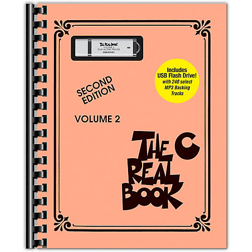 Hal Leonard The Real Book - Volume 2 Real Book Play-Along Series Softcover with USB