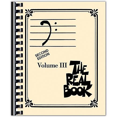 Hal Leonard The Real Book - Volume 3 Bass Clef Edition