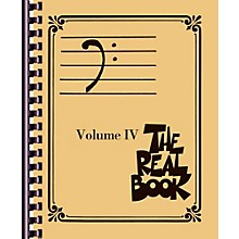 Hal Leonard The Real Book - Volume 4 (Bass Clef Edition)