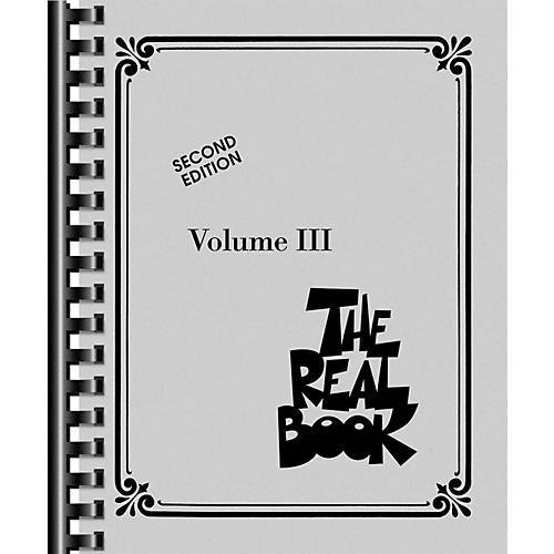Hal Leonard The Real Book - Volume III (C Edition)