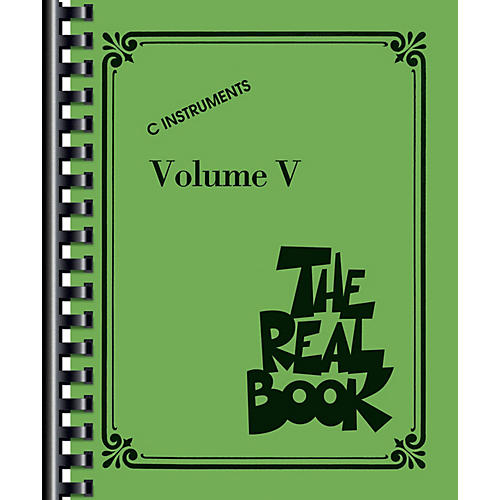 Hal Leonard The Real Book - Volume V (C Edition) Fake Book Series Softcover Performed by Various