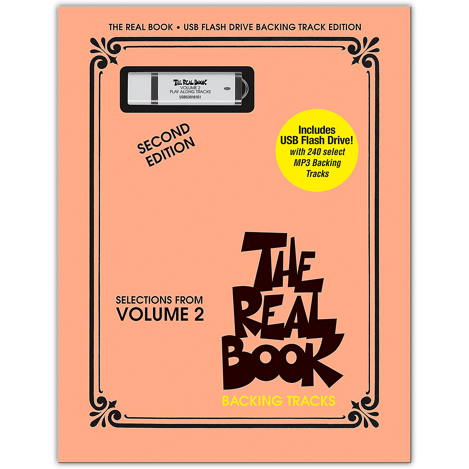Hal Leonard The Real Book Backing Tracks - Selections From Volume 2, Second Edition on USB Flash Drive