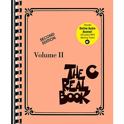 Hal Leonard The Real Book Play-Along Volume 2 (Second Edition) Book/Audio Online
