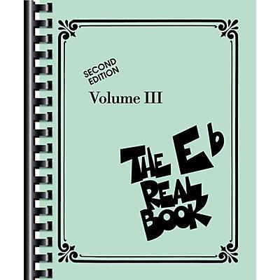 Hal Leonard The Real Book Volume III (E-Flat) Edition