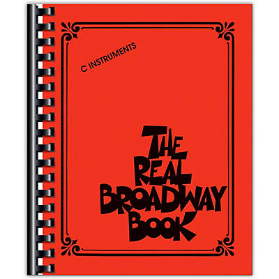 Hal Leonard The Real Broadway Book - Fake Book for C Instruments