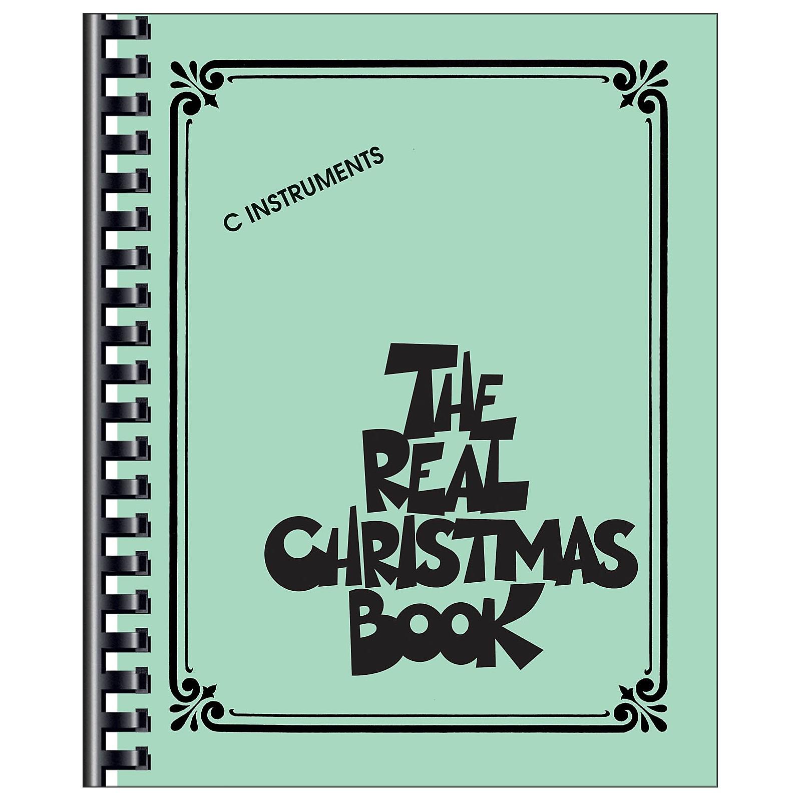 Hal Leonard The Real Christmas Book C Edition