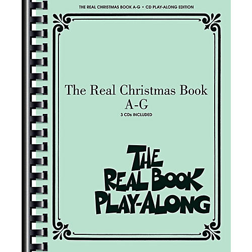 Hal Leonard The Real Christmas Book Play Along A-G Book/3 CD Pack