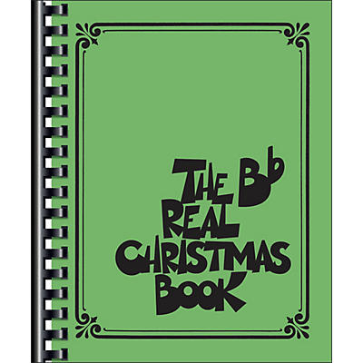 Hal Leonard The Real Christmas Fake Book B Flat Edition