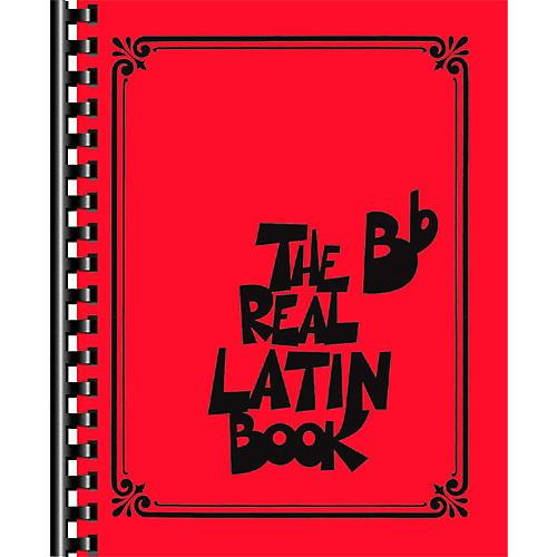 Hal Leonard The Real Latin Book - B Flat Edition Fake Book