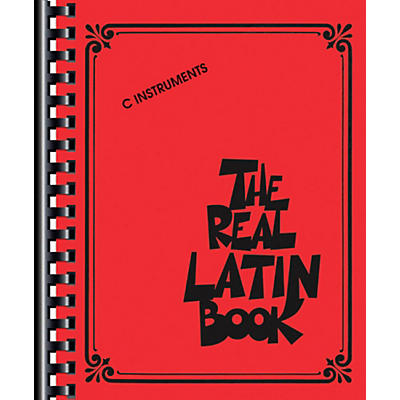 Hal Leonard The Real Latin Book - C Edition