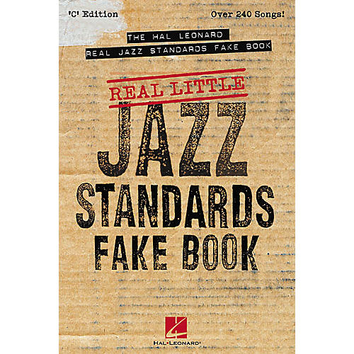 Hal Leonard The Real Little Real Jazz Standards (Fake Book)