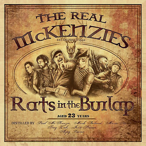 Alliance The Real McKenzies - Rats in the Burlap