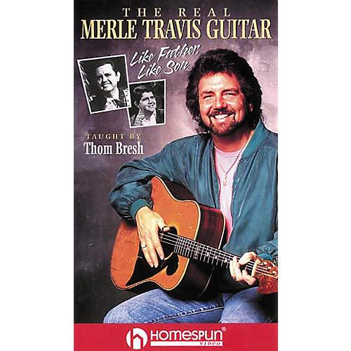 Hal Leonard The Real Merle Travis Guitar Video