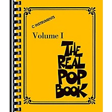 Hal Leonard The Real Pop Book-Volume 1, C Instruments