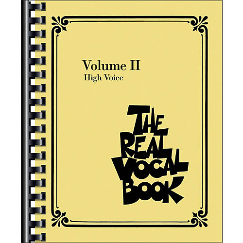 Hal Leonard The Real Vocal Book - Volume 2