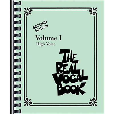 Hal Leonard The Real Vocal Book Volume 1 High Voice
