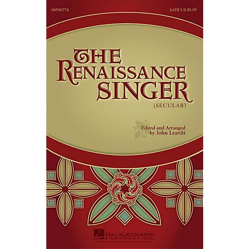 Hal Leonard The Renaissance Singer (Secular) SATB a cappella