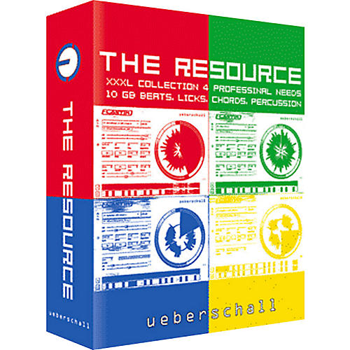 Ueberschall The Resource XXXL Collection Sample Library