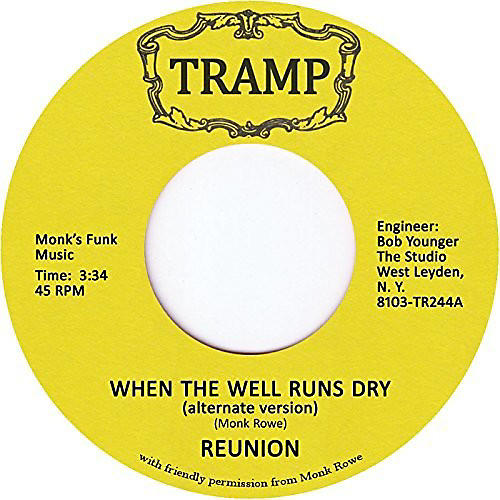 Alliance The Reunion - When The Well Runs Dry