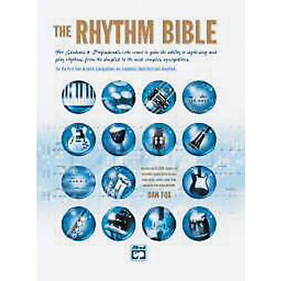 Alfred The Rhythm Bible Book and CD