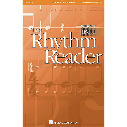 Hal Leonard The Rhythm Reader II - A Practical Rhythm Reading Course Student Edition