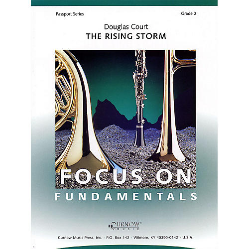 Curnow Music The Rising Storm (Grade 2 - Score Only) Concert Band Level 2 Composed by Douglas Court