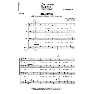 Hal Leonard The River (Choral Music/Octavo Secular Tbb) TBB Composed by Dewitt, Patti