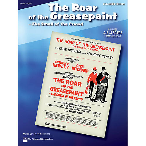 Hal Leonard The Roar of the Greasepaint, the Smell of the Crowd Richmond Music ¯ Folios Series