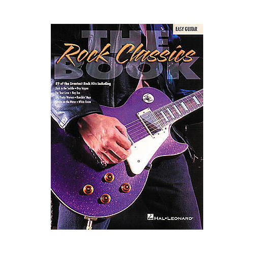 Hal Leonard The Rock Classics Easy Guitar Tab Songbook