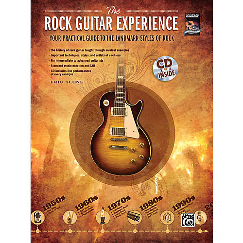Alfred The Rock Guitar Experience (Book/CD)
