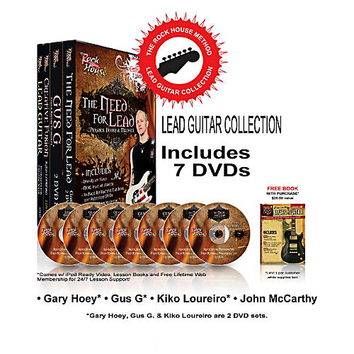 Hal Leonard The Rock House Method - Lead Guitar DVD Collection