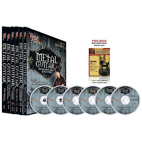 Hal Leonard The Rock House Method - Metal Guitar DVD Collection