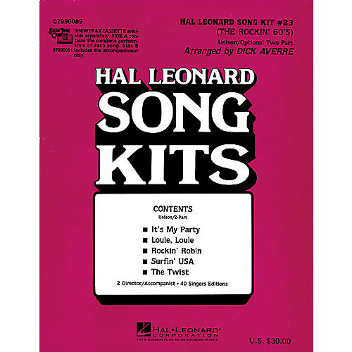 Hal Leonard The Rockin' 60s (Song Kit #23) ShowTrax CD Arranged by Dick Averre