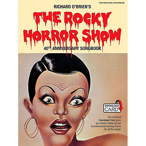 The Rocky Horror Picture Show - 40th Anniversary Piano/Vocal Selections Book/Online Audio
