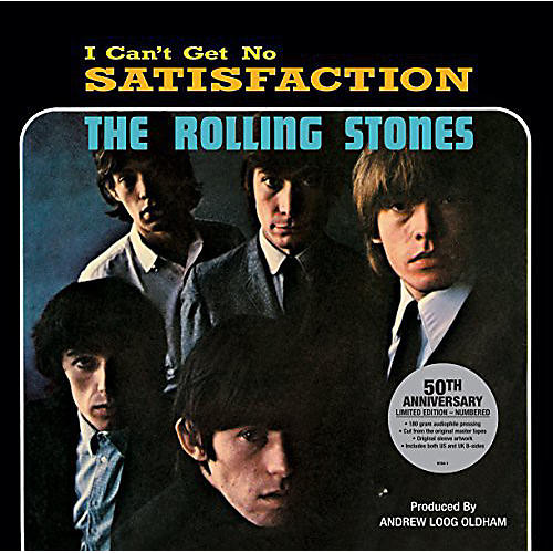 Alliance The Rolling Stones - (I Can't Get No) Satisfaction 50th Anniversary