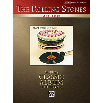 Alfred The Rolling Stones - Let It Bleed Guitar TAB Book