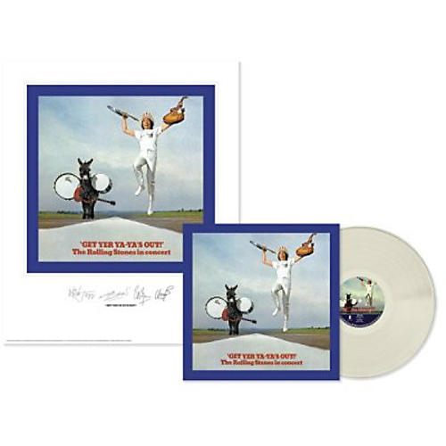 Alliance The Rolling Stones - Rolling Stones: Get Yer Ya-ya's Out (Lithograph) (Clear Vinyl)