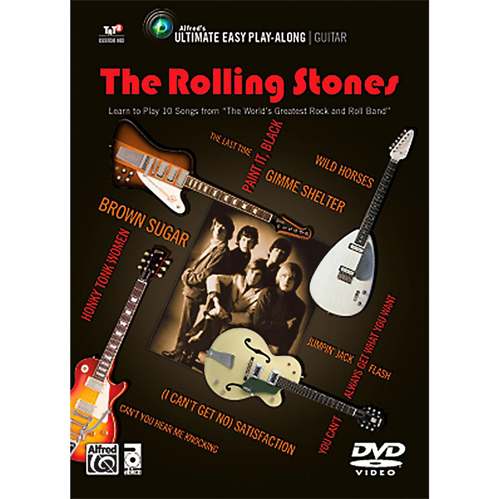 Alfred The Rolling Stones - Ultimate Easy Guitar Play-Along DVD