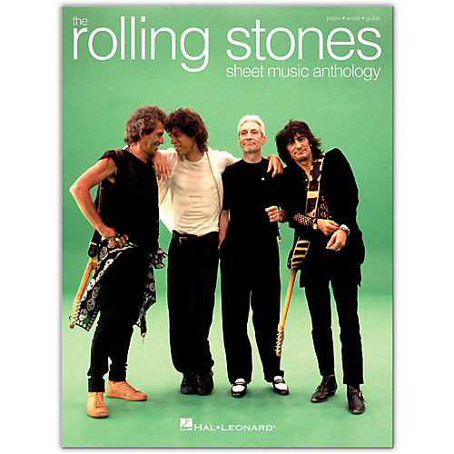 Hal Leonard The Rolling Stones Sheet Music Anthology P/V/G Piano/Vocal/Guitar