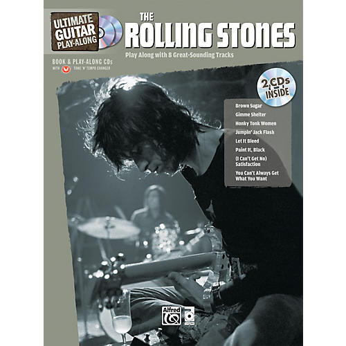 Alfred The Rolling Stones Ultimate Guitar Play-Along (Book/2 CD)